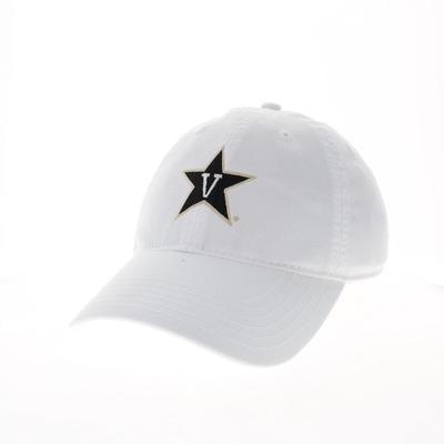 Vanderbilt Legacy EZA V-Star Logo Hat