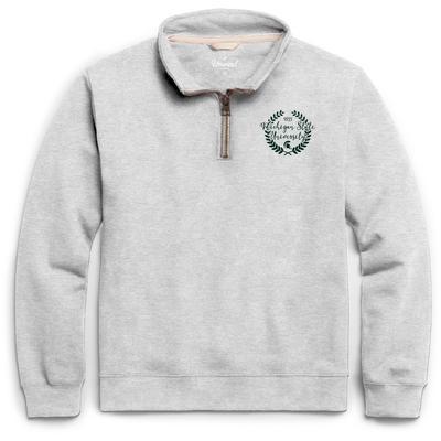 Michigan State League Essential Fleece 1/4 Zip Laurels Pullover