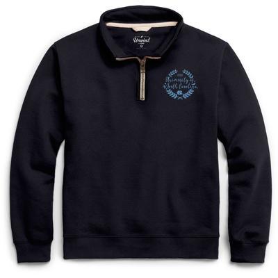UNC League Essential Fleece 1/4 Zip Laurels Pullover