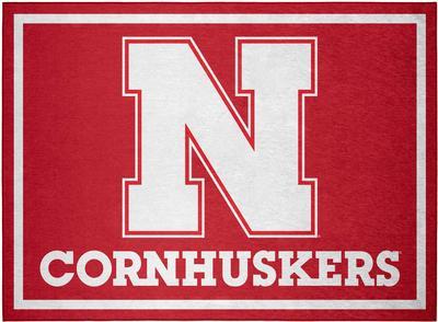 Nebraska Team Rug (20in x 30in)