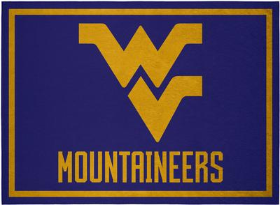 West Virginia Team Rug (20in x 30in)