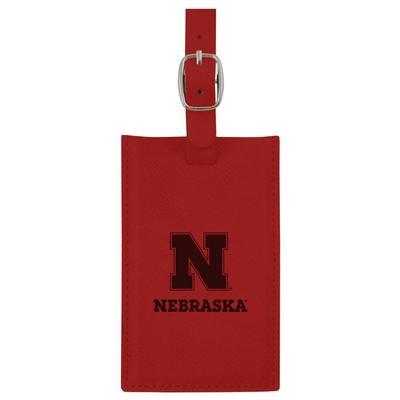 Nebraska LXG Velour Luggage Tag