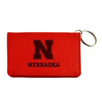 Nebraska LXG Velour ID Holder