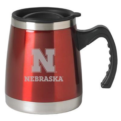 Nebraska LXG Squat Mug with Handle