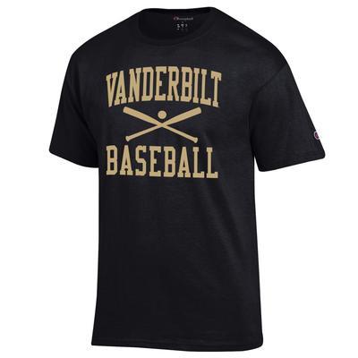 Vanderbilt Champion Basic Baseball Tee