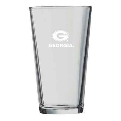 Georgia LXG 16 oz Etch Pint Glass
