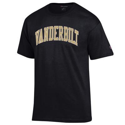 Vanderbilt Champion Basic Arch Tee