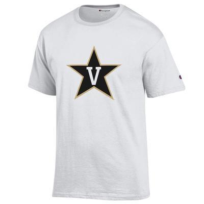 Vanderbilt Champion Giant Logo Tee
