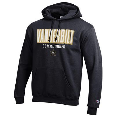 Vanderbilt Champion Straight Stack Hoodie