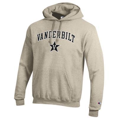Vanderbilt Champion Oatmeal Fleece Hoodie