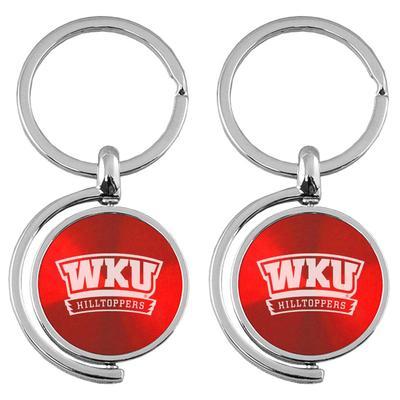 Western Kentucky LXG Spinner Keychain