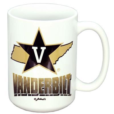 Vanderbilt 11 oz State Design Mug