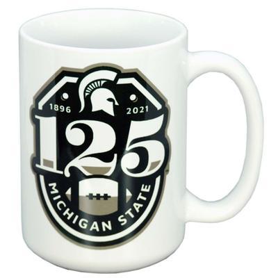 Michigan State 15 oz 125 Seasons Mug