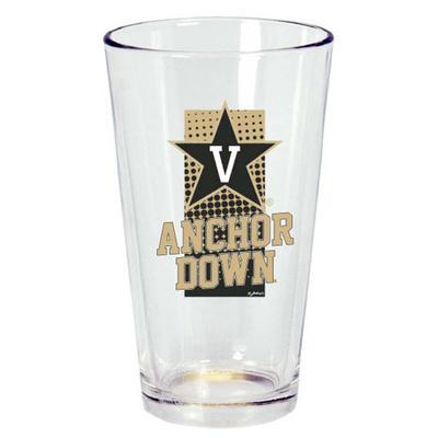 Vanderbilt 16 oz Dot Pint Glass