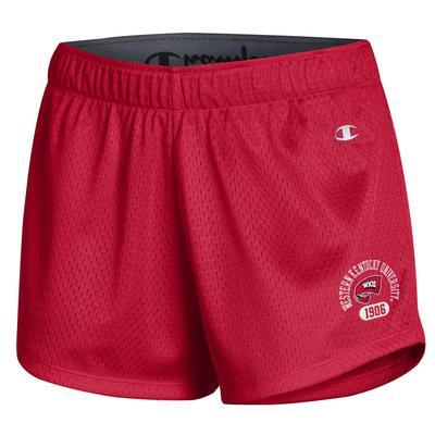 Western Kentucky Champion Women's Game Day Mesh Shorts
