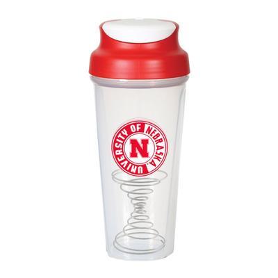 Nebraska Pogo Shaker Bottle