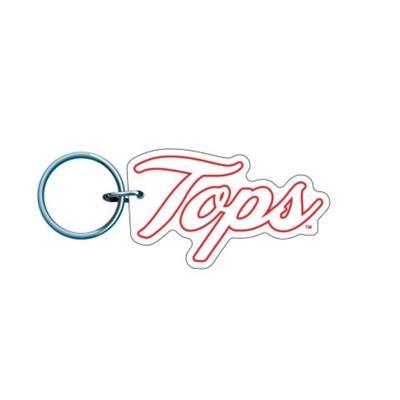 Western Kentucky Tops Logo Keychain