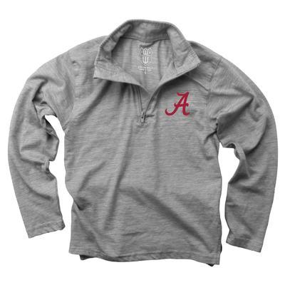 Alabama Kids Cloudy Yarn 1/4 Zip Pullover