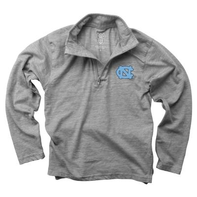 UNC YOUTH Cloudy Yarn 1/4 Zip Pullover