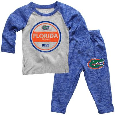 Florida Toddler Cloudy Yarn Long Sleeve Set