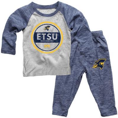 ETSU Toddler Cloudy Yarn Long Sleeve Set