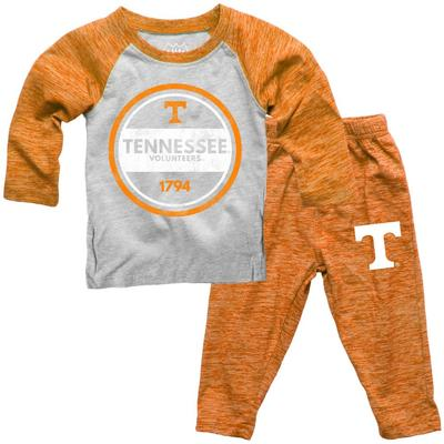 Tennessee Toddler Cloudy Yarn Long Sleeve Set