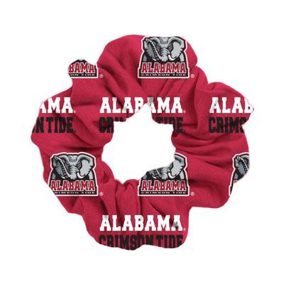 Alabama Crimson Tide Wide Spirit Scrunchie