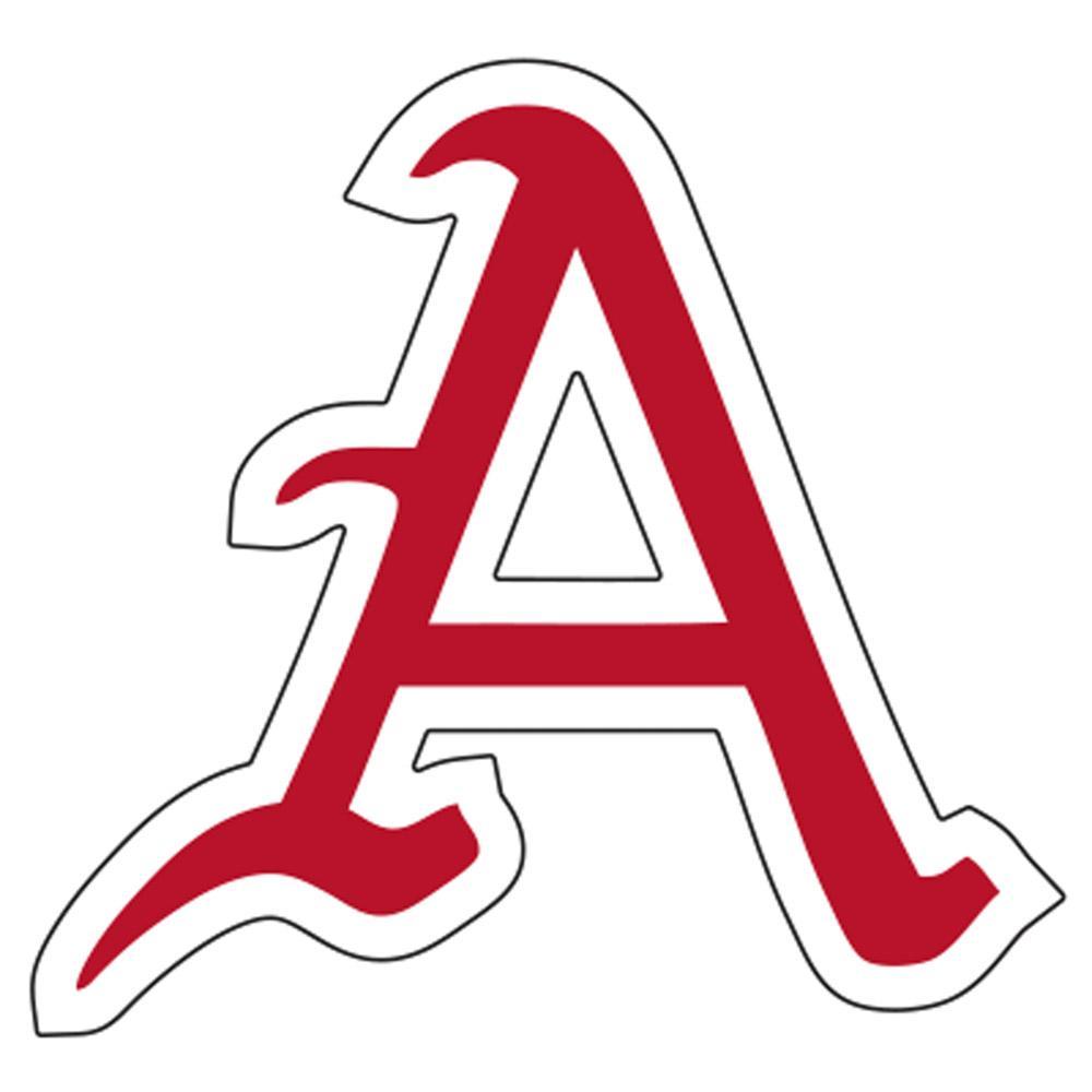 Arkansas Baseball Script A Decal