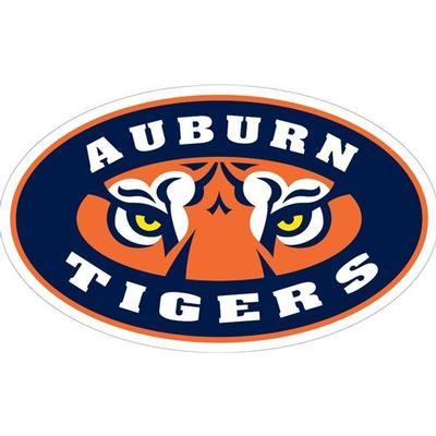 Auburn Magnet Tigers Eyes Logo 12