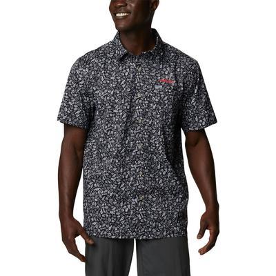 Georgia Columbia Men's Super Slack Tide Printed Shirt