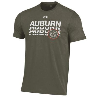 Auburn Under Armour Freedom Collection Stack Tee