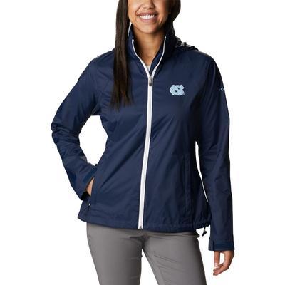 UNC Columbia Women's CLG Switchback Jacket