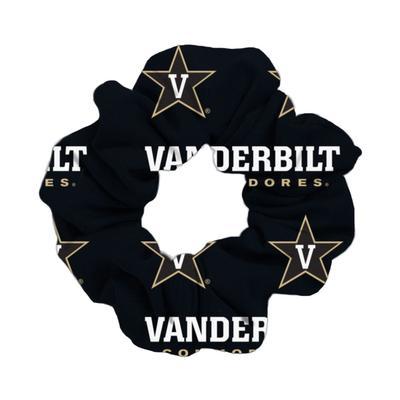 Vanderbilt Commodores Wide Spirit Scrunchie