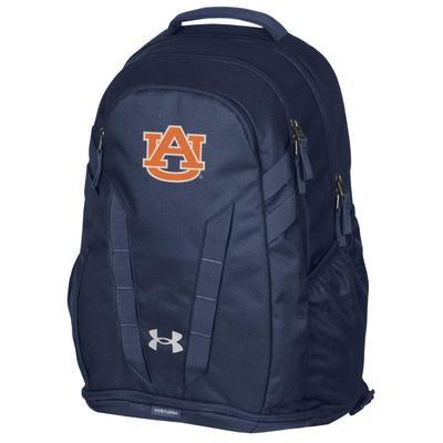 Auburn Under Armour Hustle 5.0 Backpack