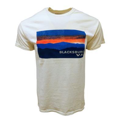 Blacksburg Va Mountain Skyline T-Shirt