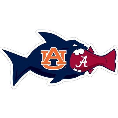 Auburn Magnet AU vs AL Rival Fish 3