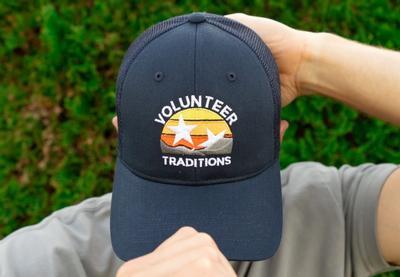 Volunteer Traditions Mountain Range Promesh Snapback Hat