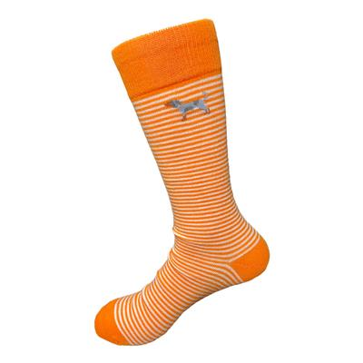 Tennessee Volunteer Traditions Striped Bluetick Socks