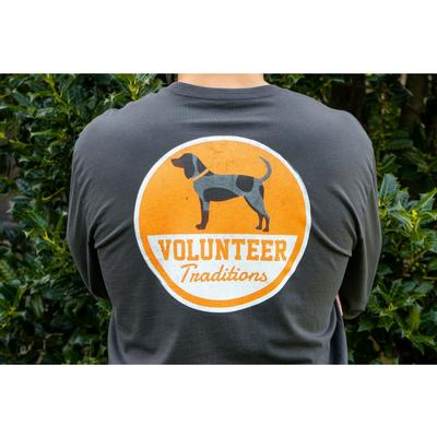 Tennessee Volunteer Traditions Bluetick Patch Long Sleeve Pocket Tee