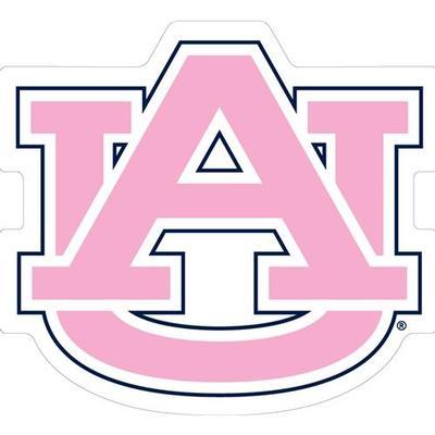 Auburn Magnet Pink AU Logo 3