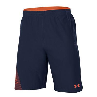 Auburn Under Armour Sideline Woven Shorts