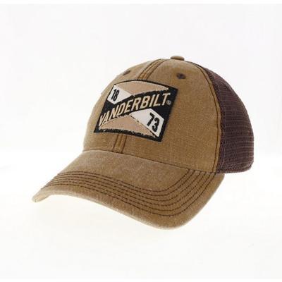 Vanderbilt Legacy Frayed X Patch Hat