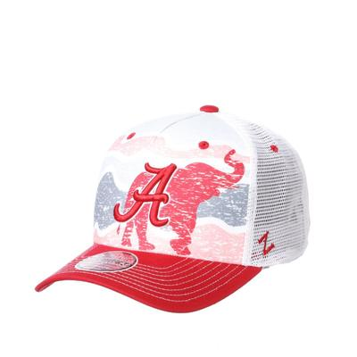 Alabama Zephyr Climate Change Sublimated Trucker Hat