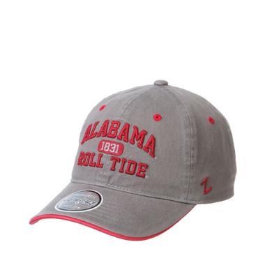 Alabama Zephyr Elm Washed Arch Adjustable Hat