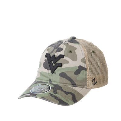 West Virginia Zephyr Maple Camo Trucker Hat