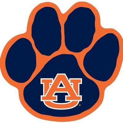 Auburn Magnet AU Tiger Paw 12
