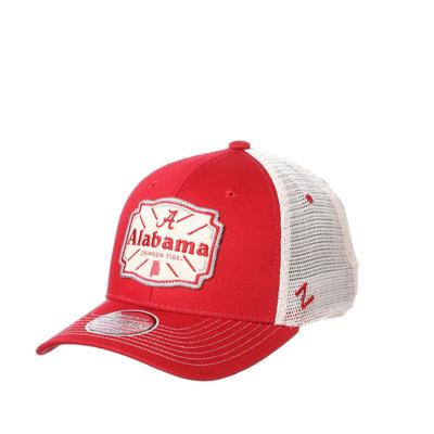 Alabama Zephyr Silverton Patch Trucker Hat
