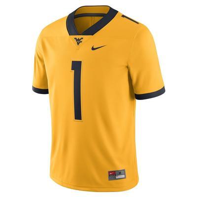 West Virginia Nike #21 Football Game Jersey