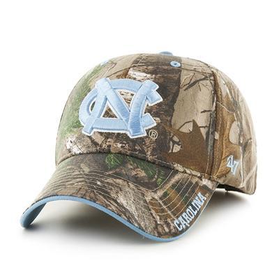 UNC 47' Brand MVP Camo Adjustable Hat