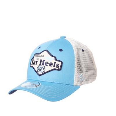 UNC Zephyr Silverton Patch Trucker Hat